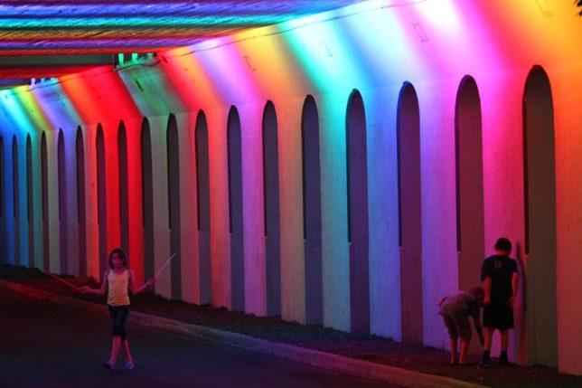 tunnels rainbow 3