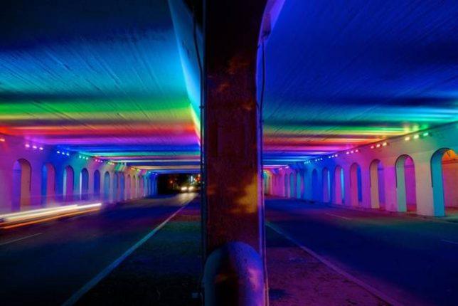 tunnels rainbow 4