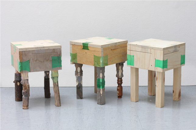 wood plastic furniture
