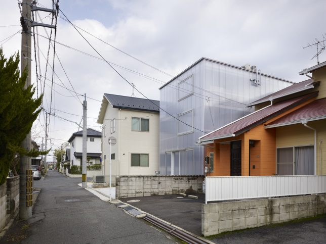 wrap facade glowing house 3