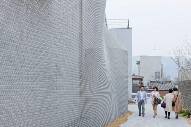 wrap facade mesh 3