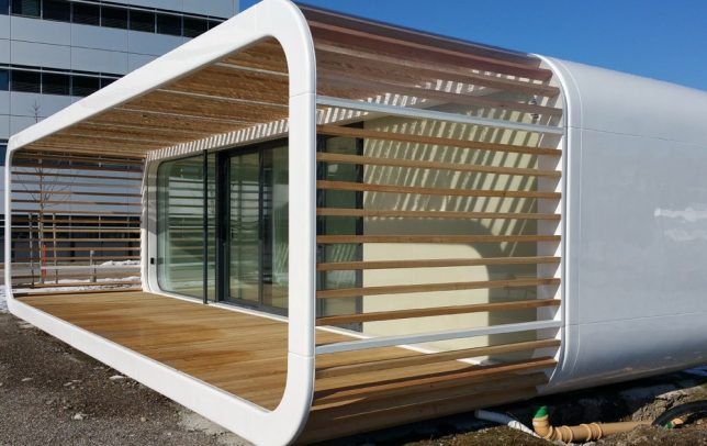 prefab office space. Not To Be Confused With The \u0027Cooba,\u0027 \u0027Coodo\u0027 By A Prefab Builder In Slovenia Is Customizable, Compact Portable Unit That Can Anything From Tiny Office Space D
