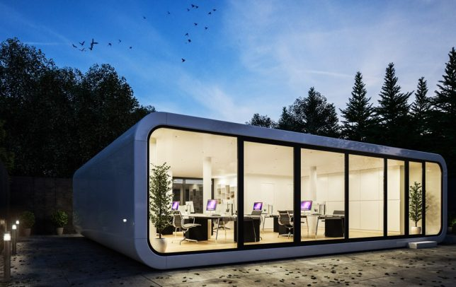 Attractive Not To Be Confused With The U0027Cooba,u0027 The U0027Coodou0027 By A Prefab Builder In  Slovenia Is A Customizable, Compact Portable Unit That Can Be Anything From  A Tiny ...