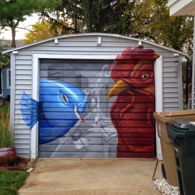 6 Creative Garage Design Ideas: Close Calls: 12 Breathtakingly Creative Garage Doors