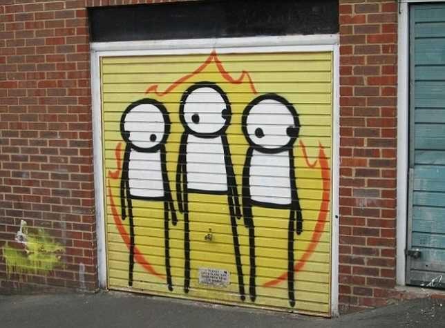 Close Calls 12 Breathtakingly Creative Garage Doors