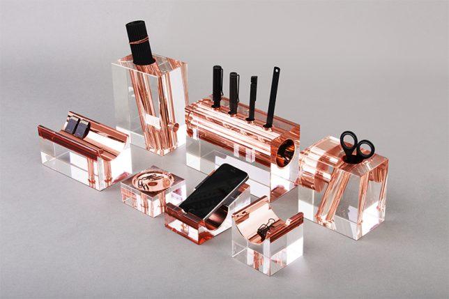 desk organizer crystal 1