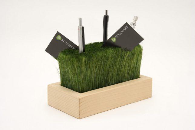 desk organizers grass 1