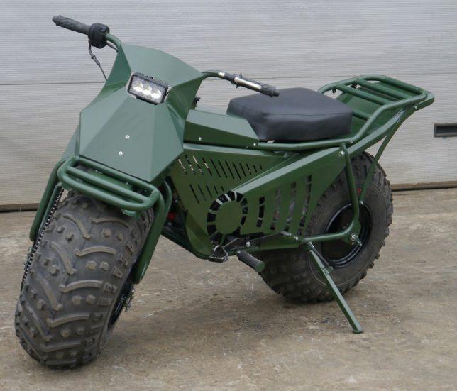 folding motorcycle 1