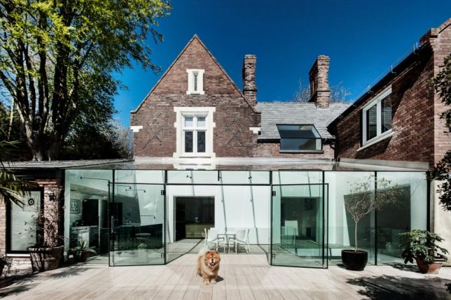 modern extension glass house 1