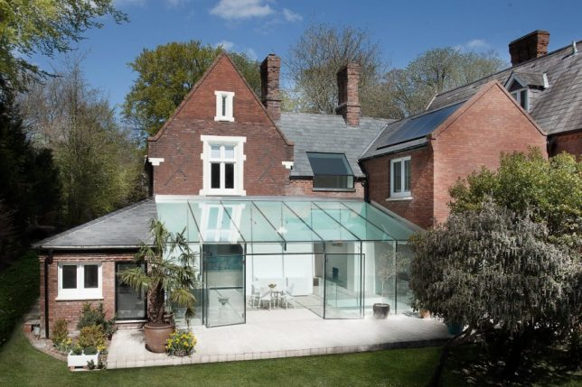 modern extension glass house 2
