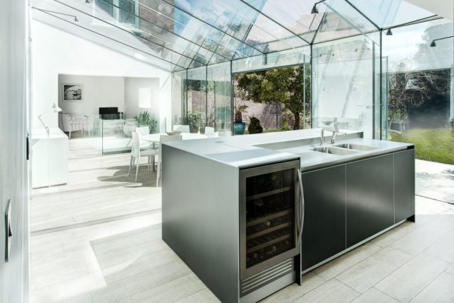 modern extension glass house 3
