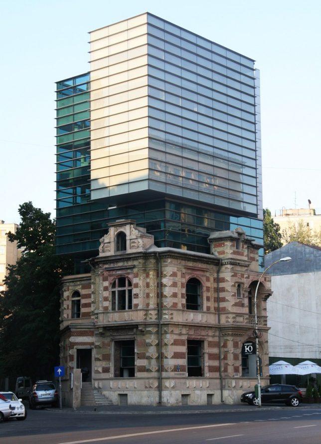 modern extension romania