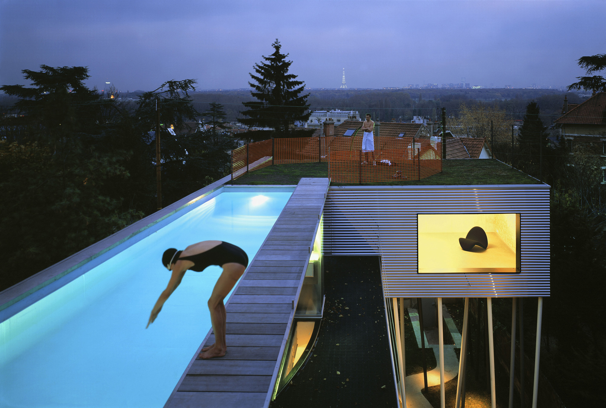 Private Urban Paradise 13 Dreamy Residential Rooftop Pools Gardens Urbanist