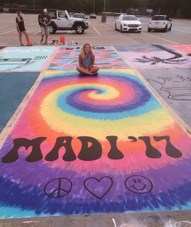 My Space 15 Creatively Painted High School Parking Spots