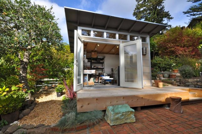 Prefab Office Shed modern garden corner shed google search new house ideas pinterest garden office sheds and corner sheds Studio Sheds