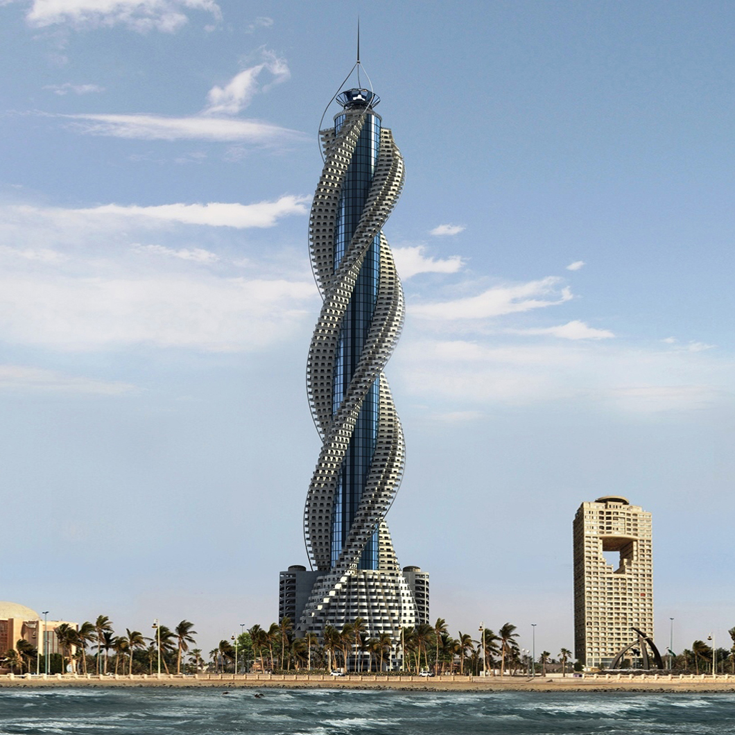 Spiraling Skyscrapers Rounding Up The World S Tallest