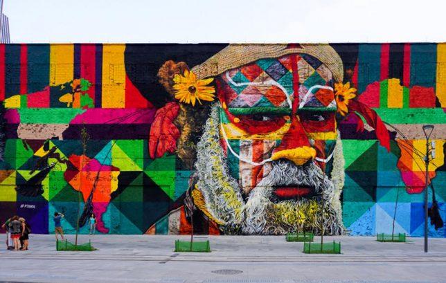 world record mural rio 1