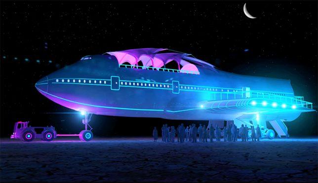 747 in person