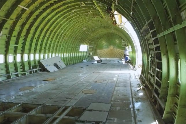 747 interior