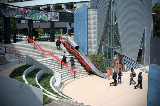 city slides transfer accelerator