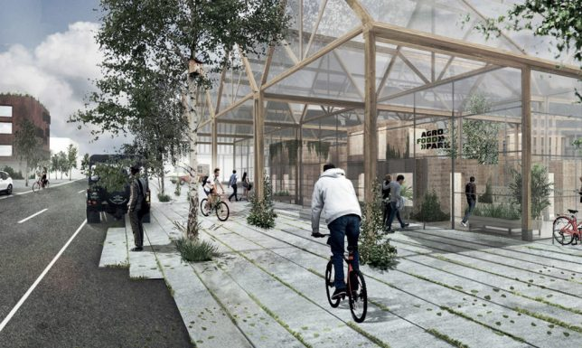 "Urban Food Park: Scandinavia is Growing a ""Silicon Valley for Agriculture"""