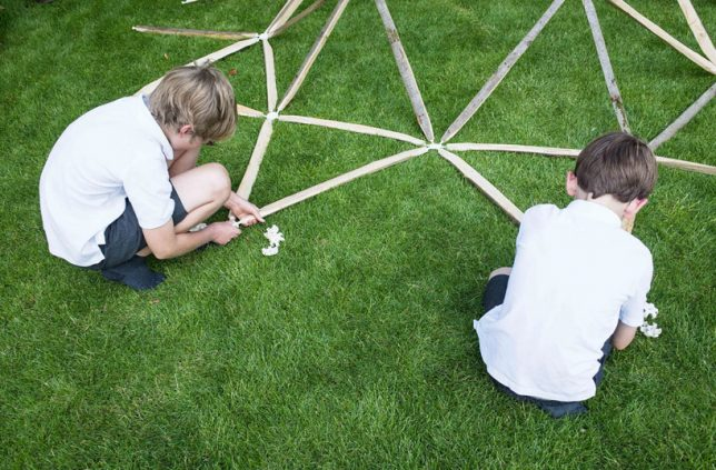 diy-geodesic-dome-assembly
