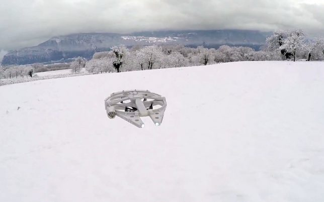 drone-design-millenium-falcon