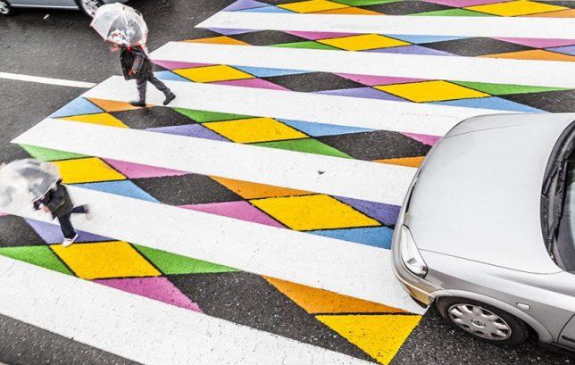 funnycross installation art