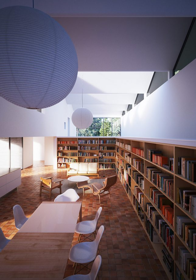 home-library-wraparound