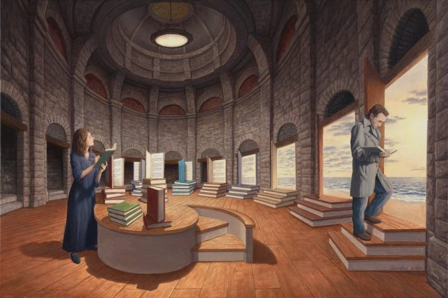 library-morph