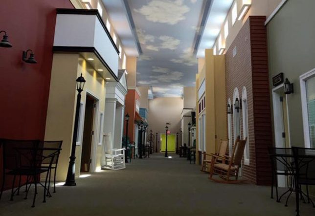 The Lantern Dementia Villages Replicate Small Towns