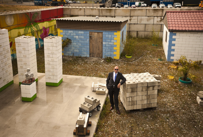 Rebuilding Blocks Mobile Factory Turns Disaster Debris