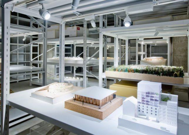model shelves