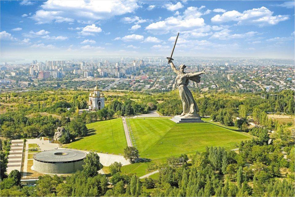 motherland calls statue