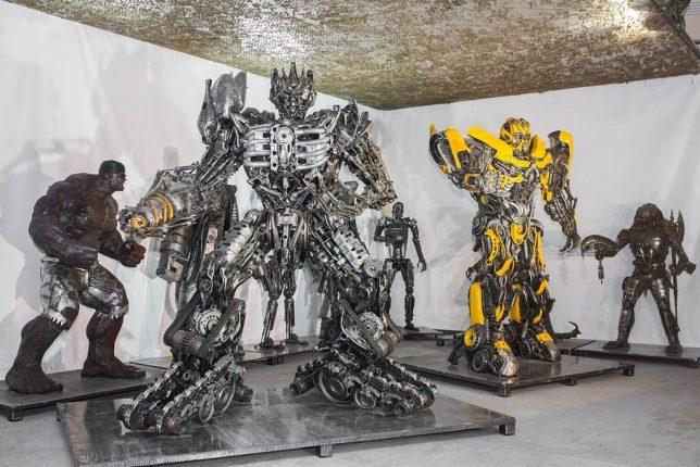 scrap sculptures 3