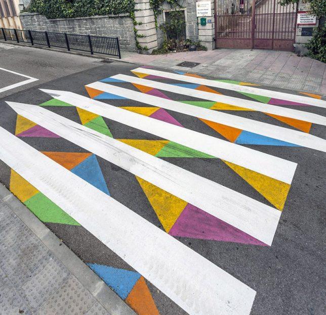 sidewalk art school