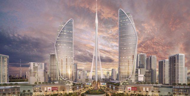 skyscraper tower dubai 2