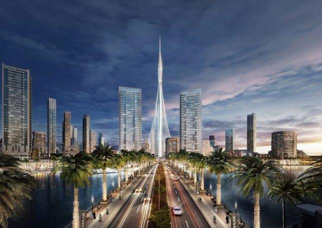 skyscraper tower dubai