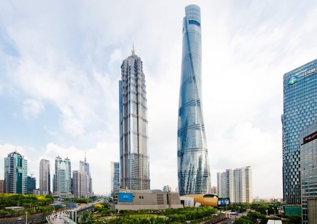 skyscrapers shanghai tower 2