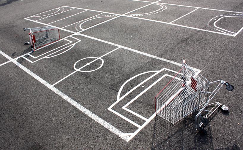 urban hacking shopping cart hockey