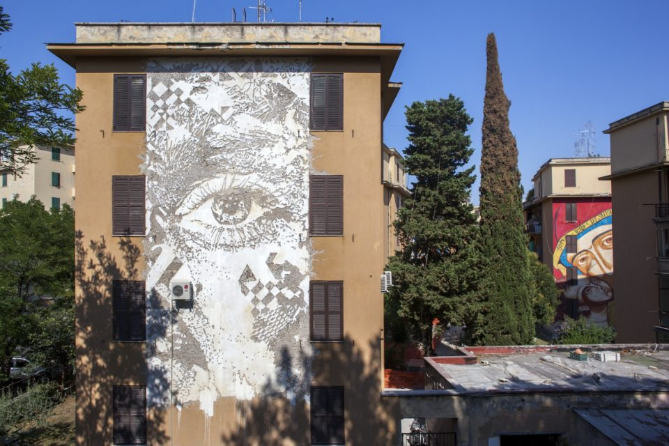 vhils scratched mural 1