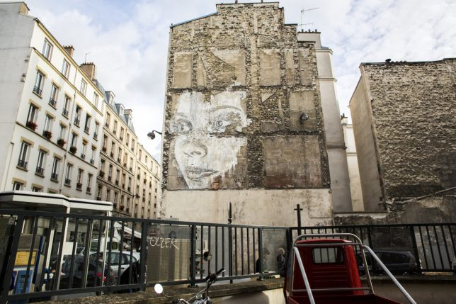 vhils scratched mural 5