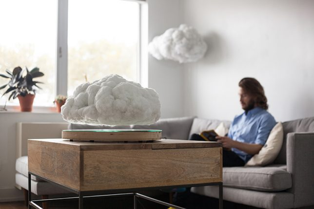 cloud-shaped-floating-speaker