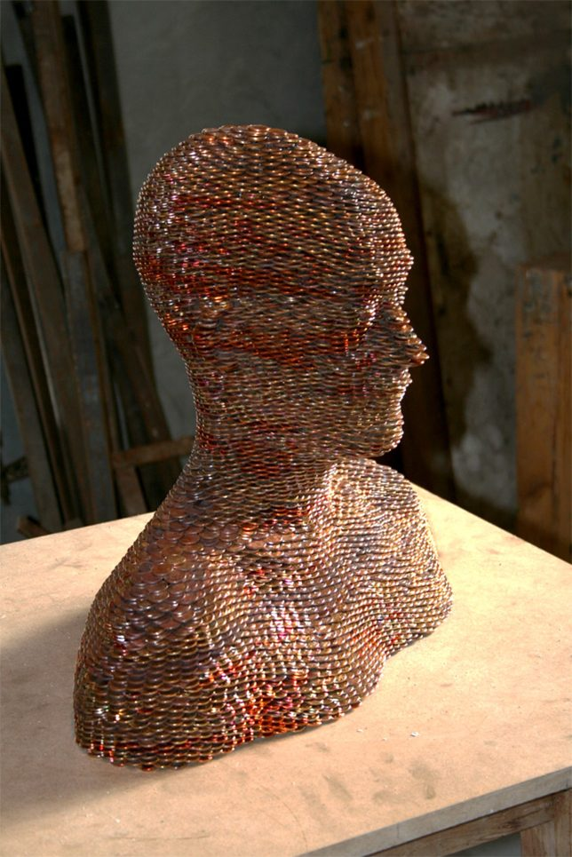 Creative Currency: 33 Sculptural Works of Art Made From Coins | Urbanist