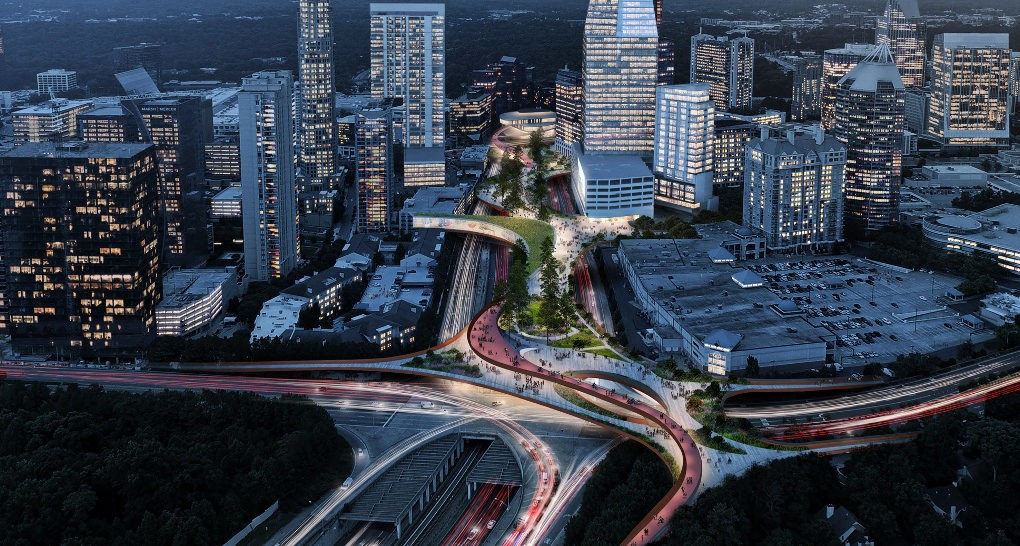 Reconnecting Atlanta Elevated Park To Bridge A City