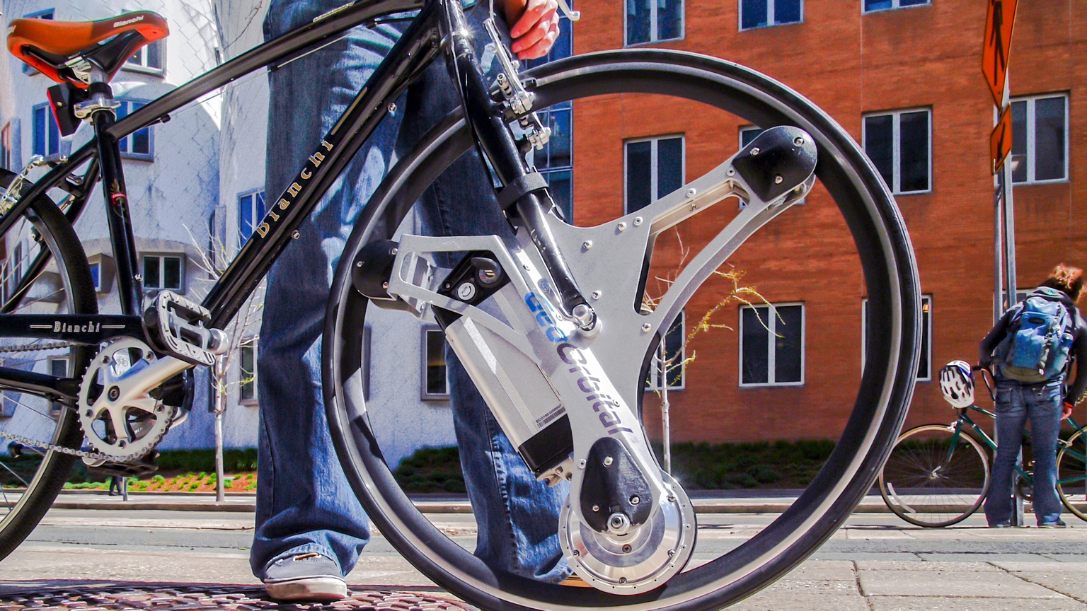 Geoorbital Wheel Tron Inspired Add On Makes Any Bike