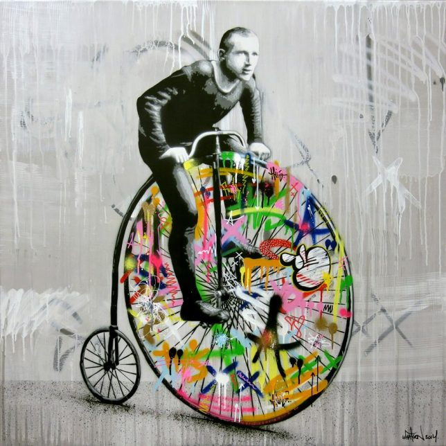 graffiti-cyclist