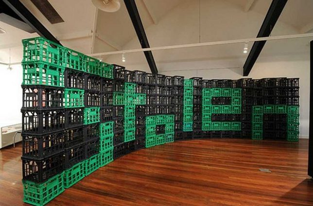 ART|HOUSE Haven't you always wanted to live in a milk crate? |House Art Milk Crates