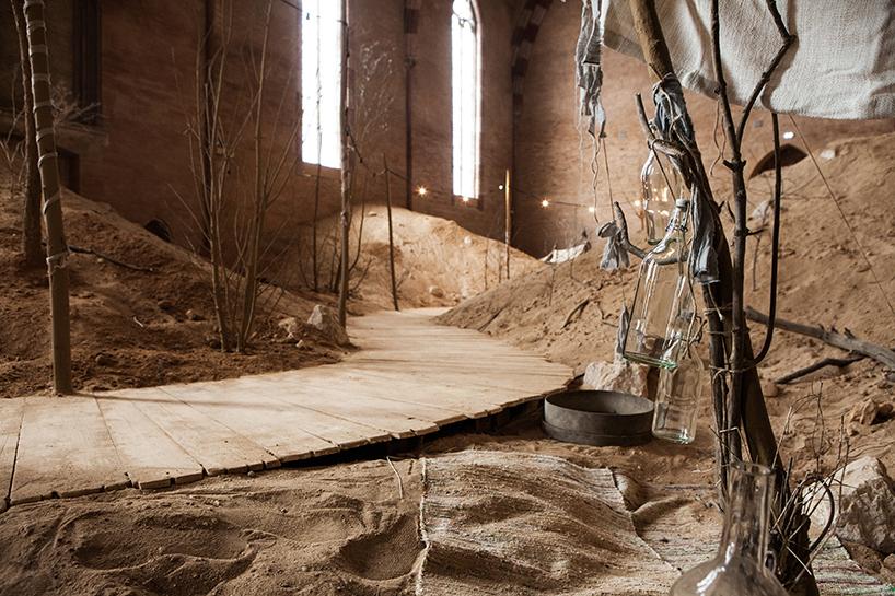 surrealistic-church-setting