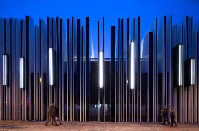 Fashionable Facades 15 Buildings That Put On An Artistic